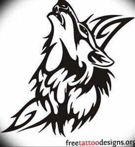 Фото тату волк 20.05.2019 №306 - photo tattoo wolf - tattoo-photo.ru