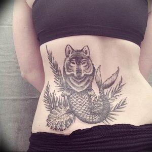 Фото тату волк 20.05.2019 №317 - photo tattoo wolf - tattoo-photo.ru
