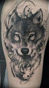 Фото тату волк 20.05.2019 №332 - photo tattoo wolf - tattoo-photo.ru