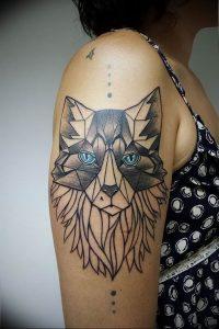Фото тату волк 20.05.2019 №335 - photo tattoo wolf - tattoo-photo.ru