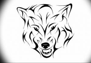 Фото тату волк 20.05.2019 №345 - photo tattoo wolf - tattoo-photo.ru