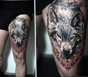 Фото тату волк 20.05.2019 №346 - photo tattoo wolf - tattoo-photo.ru