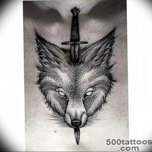 Фото тату волк 20.05.2019 №353 - photo tattoo wolf - tattoo-photo.ru