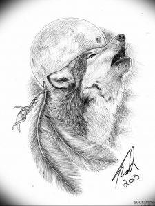 Фото тату волк 20.05.2019 №367 - photo tattoo wolf - tattoo-photo.ru