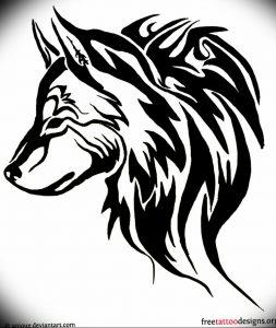 Фото тату волк 20.05.2019 №384 - photo tattoo wolf - tattoo-photo.ru