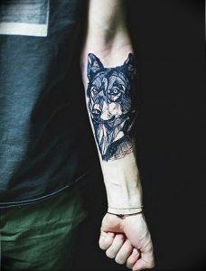 Фото тату волк 20.05.2019 №389 - photo tattoo wolf - tattoo-photo.ru