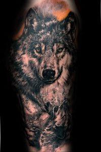 Фото тату волк 20.05.2019 №394 - photo tattoo wolf - tattoo-photo.ru