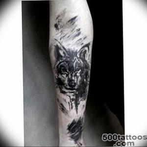 Фото тату волк 20.05.2019 №397 - photo tattoo wolf - tattoo-photo.ru