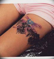Фото тату подвязка для чулков 20.05.2019 №011 — photo tattoo garter — tattoo-photo.ru