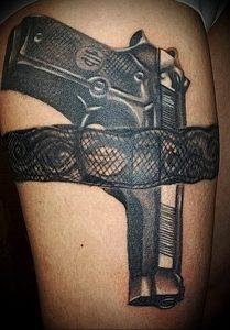 Фото тату подвязка для чулков 20.05.2019 №023 - photo tattoo garter - tattoo-photo.ru