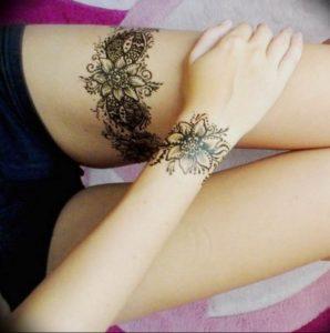 Фото тату подвязка для чулков 20.05.2019 №034 - photo tattoo garter - tattoo-photo.ru