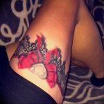 Фото тату подвязка для чулков 20.05.2019 №036 - photo tattoo garter - tattoo-photo.ru