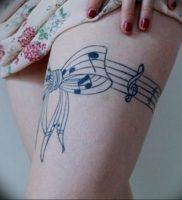 Фото тату подвязка для чулков 20.05.2019 №039 — photo tattoo garter — tattoo-photo.ru