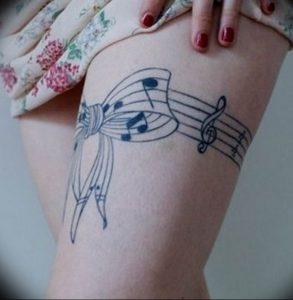Фото тату подвязка для чулков 20.05.2019 №039 - photo tattoo garter - tattoo-photo.ru