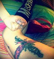 Фото тату подвязка для чулков 20.05.2019 №040 — photo tattoo garter — tattoo-photo.ru