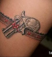 Фото тату подвязка для чулков 20.05.2019 №053 — photo tattoo garter — tattoo-photo.ru