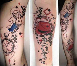 Фото тату часы 20.05.2019 №014 - photo tattoo watch - tattoo-photo.ru