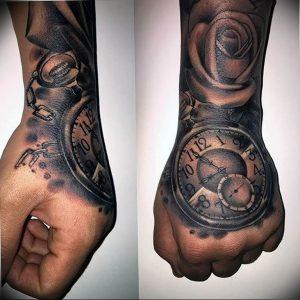 Фото тату часы 20.05.2019 №456 - photo tattoo watch - tattoo-photo.ru