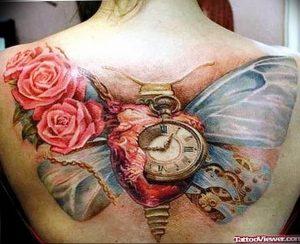 Фото тату часы 20.05.2019 №457 - photo tattoo watch - tattoo-photo.ru