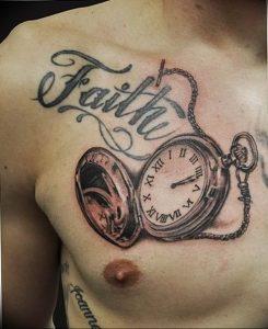 Фото тату часы 20.05.2019 №459 - photo tattoo watch - tattoo-photo.ru