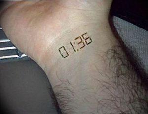 Фото тату часы 20.05.2019 №474 - photo tattoo watch - tattoo-photo.ru