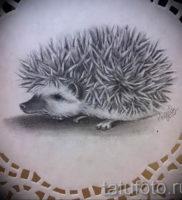 Фото вариант тату ежик 31.07.2019 №016 — tattoo hedgehog — tattoo-photo.ru
