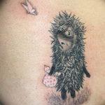 Фото вариант тату ежик 31.07.2019 №069 - tattoo hedgehog - tattoo-photo.ru