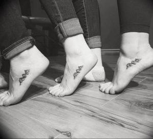 Фото мини тату горы 23.07.2019 №028 - mini mountain tattoo - tattoo-photo.ru