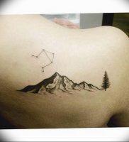 Фото созвездие весов тату 12.07.2019 №008 — constellation Libra tattoo — tattoo-photo.ru
