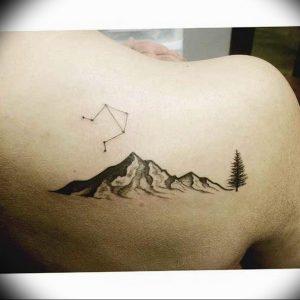 Фото созвездие весов тату 12.07.2019 №008 - constellation Libra tattoo - tattoo-photo.ru