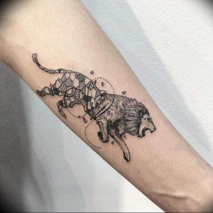 Фото созвездие льва тату 12.07.2019 №007 - constellation lion tattoo - tattoo-photo.ru