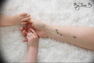 Фото созвездие овна тату 12.07.2019 №019 - constellation ram tattoo - tattoo-photo.ru