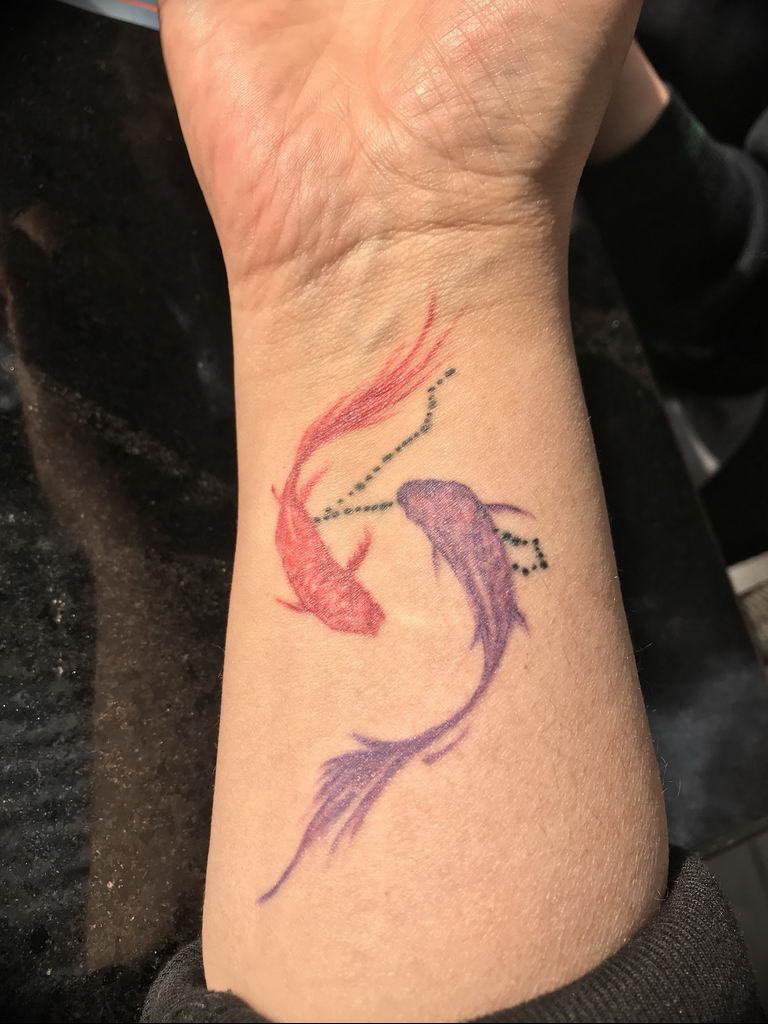 Stupefacente тату созвездие рыбы значение