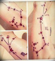 Фото созвездие скорпиона тату 12.07.2019 №038 — constellation scorpion ta — tattoo-photo.ru