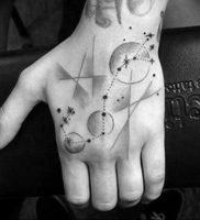 Фото созвездие скорпиона тату 12.07.2019 №039 — constellation scorpion ta — tattoo-photo.ru