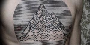 Фото тату горы геометрия 23.07.2019 №031 - mountain tattoo geometry - tattoo-photo.ru
