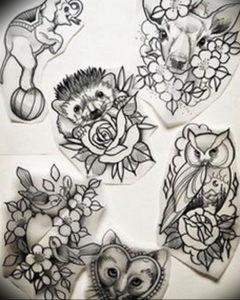 Photo ежик тату эскиз 31.07.2019 №002 - hedgehog tattoo sketch - tattoo-photo.ru