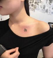Фото альфа и омега тату 13.08.2019 №027 — alpha and omega tattoo — tattoo-photo.ru