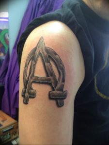 Фото альфа и омега тату 13.08.2019 №067 - alpha and omega tattoo - tattoo-photo.ru