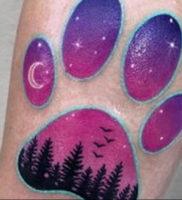 Фото тату для девушек лапки 12.08.2019 №008 — tattoo for girls paws — tattoo-photo.ru