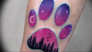 Фото тату для девушек лапки 12.08.2019 №008 - tattoo for girls paws - tattoo-photo.ru