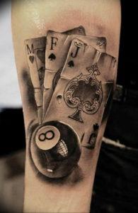 Фото тату цифра 8 21.08.2019 №042 - tattoo number 8 - tattoo-photo.ru