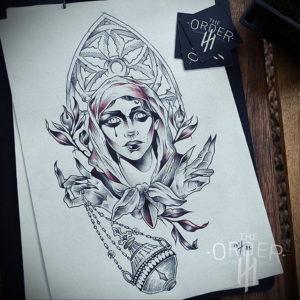 Фото белые тату эскизы 13.09.2019 №005 - white tattoo sketches - tattoo-photo.ru