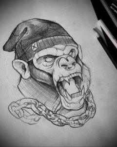 Фото белые тату эскизы 13.09.2019 №007 - white tattoo sketches - tattoo-photo.ru