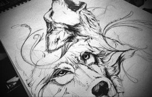 Фото белые тату эскизы 13.09.2019 №011 - white tattoo sketches - tattoo-photo.ru