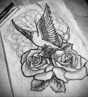 Фото белые тату эскизы 13.09.2019 №012 — white tattoo sketches — tattoo-photo.ru