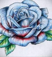 Фото роза тату эскиз 13.09.2019 №035 — rose tattoo sketch — tattoo-photo.ru