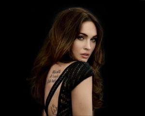 Фото тату Меган Фокс 23.09.2019 №110 - Megan Fox Tattoos - tattoo-photo.ru
