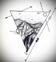 Фото тату геометрия эскизы 13.09.2019 №014 — tattoo geometry sketches — tattoo-photo.ru
