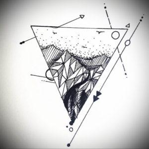 Фото тату геометрия эскизы 13.09.2019 №014 - tattoo geometry sketches - tattoo-photo.ru